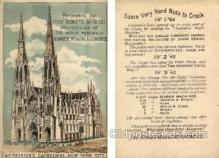 tc000438 - St. Patrick's Cathedral, New York City, Presented by Singer MFG. Co. - Approx Size Inches = 3.25 x 4.75