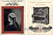 tc000477 - Tryber Piano Co. Lakeside Organ Co. - Approx Size Inches = 2.75 x 3.5