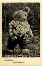ted002362 - Teddy Bear Postcard Post Card Old Vintage Antique