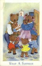 ted002366 - Will Sehermele Teddy Bear Postcard Post Card Old Vintage Antique