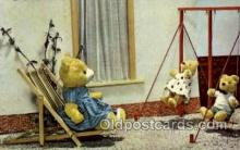 ted002369 - Teddy Bear Postcard Post Card Old Vintage Antique