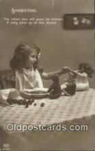 ted004026 - Dinner Time, Bear Postcard Bears, tragen postkarten, sopportare cartoline, soportar tarjetas postales, suportar cartões postais