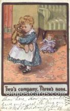 ted004027 - Two's Company, Threes None, Bear Postcard Bears, tragen postkarten, sopportare cartoline, soportar tarjetas postales, suportar cartões postais