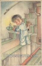 ted004033 - Artist KL Links, Bear Postcard Bears, tragen postkarten, sopportare cartoline, soportar tarjetas postales, suportar cartões postais
