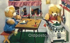 ted004046 - Teddy Bear Series, Bear Postcard Bears, tragen postkarten, sopportare cartoline, soportar tarjetas postales, suportar cartões postais