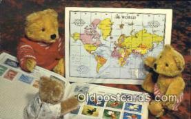 ted004047 - Teddy Bear Series, Bear Postcard Bears, tragen postkarten, sopportare cartoline, soportar tarjetas postales, suportar cartões postais