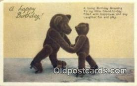 ted004052 - Series 1402, Bear Postcard Bears, tragen postkarten, sopportare cartoline, soportar tarjetas postales, suportar cartões postais
