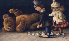 ted004064 - Artist Fritz Hildebrandt, Bear Postcard Bears, tragen postkarten, sopportare cartoline, soportar tarjetas postales, suportar cartões postais