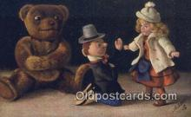 ted004067 - Artist Fritz Hildebrandt, Bear Postcard Bears, tragen postkarten, sopportare cartoline, soportar tarjetas postales, suportar cartões postais