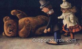 ted004069 - Artist Fritz Hildebrandt, Bear Postcard Bears, tragen postkarten, sopportare cartoline, soportar tarjetas postales, suportar cartões postais