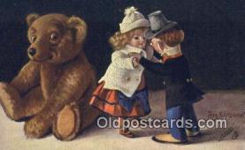 ted004070 - Artist Fritz Hildebrandt, Bear Postcard Bears, tragen postkarten, sopportare cartoline, soportar tarjetas postales, suportar cartões postais