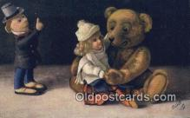 ted004071 - Artist Fritz Hildebrandt, Bear Postcard Bears, tragen postkarten, sopportare cartoline, soportar tarjetas postales, suportar cartões postais
