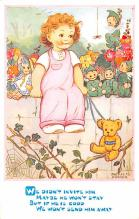 ted004083 - Teddy Bear Post Card