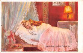ted004126 - Teddy Bear Post Card