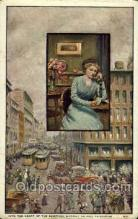 tep001025 - Heart of the Shopping District, Bell Telephone  Postcard Post Cards Old Vintage Antique