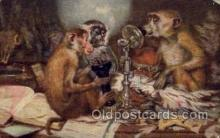 tep001028 - Don't Monkey  Postcard Post Cards Old Vintage Antique