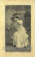 tep001042 - Telephone Postcard Post Card Old Vintage Antique