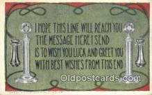tep001083 - Telephone Postcard Post Card Old Vintage Antique