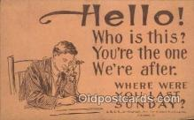 tep001089 - Telephone Postcard Post Card Old Vintage Antique