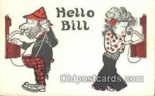 tep001092 - Telephone Postcard Post Card Old Vintage Antique