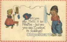 tep001093 - Telephone Postcard Post Card Old Vintage Antique