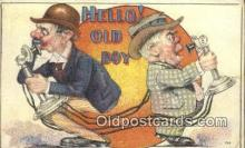tep001096 - Telephone Postcard Post Card Old Vintage Antique