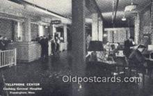 tep001098 - Cushing General Hospital, Framingham, MA, USA Telephone Postcard Post Card Old Vintage Antique