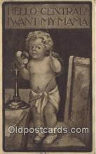tep001112 - Telephone Postcard Post Card Old Vintage Antique