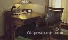 tep001130 - Harding's Ohio Senate Desk, Marion Ohio, USA  Postcard Post Card, Carte Postale, Cartolina Postale, Tarjets Postal,  Old Vintage Antique