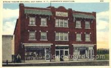 the001013 - Strand Theatre Building, Old Forge, New York, NY, USA,  Postcard Postcards