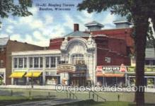 the001015 - Al Ringling Theatre,  Baraboo, Wisconsin, WI, USA,  Postcard Postcards