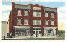 the100127 - Stand Theater Building Old Forge, NY, USA Postcard Post Cards Old Vintage Antique