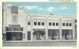 the100128 - New Watseka Theatre Watseka, IL, USA Postcard Post Cards Old Vintage Antique