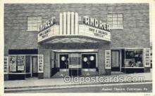 the100129 - Andrea Theatre Catawissa, PA, USA Postcard Post Cards Old Vintage Antique