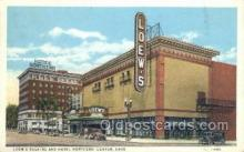 the100133 - Loew's Theatre & Hotel Northern Canton, OH, USA Postcard Post Cards Old Vintage Antique