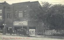 the100134 - Majestic Theatre Belvidere, IL, USA Postcard Post Cards Old Vintage Antique