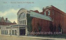 the100140 - Majestic Theatre Fort Wayne, IN, USA Postcard Post Cards Old Vintage Antique
