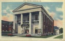the100144 - Lyric Theatre Boonville, MO, USA Postcard Post Cards Old Vintage Antique