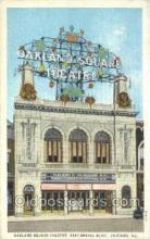 the100150 - Oakland Square Theatre Chicago, IL, USA Postcard Post Cards Old Vintage Antique