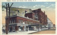 the100156 - Majestic Theatre & Genesee Hotel Buffalo, NY, USA Postcard Post Cards Old Vintage Antique