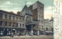 the100160 - Newark Theatre, Market Street Newark, NJ, USA Postcard Post Cards Old Vintage Antique