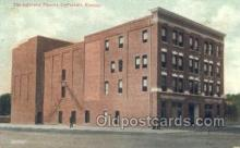 the100165 - Jefferson Theatre Coffeyville, KS, USA Postcard Post Cards Old Vintage Antique