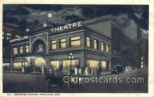 the100168 - Orpheum Theatre Portland, ME, USA Postcard Post Cards Old Vintage Antique