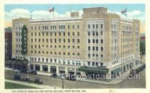 the100169 - Emboyd Theatre & Hotel Indiana Fort Wayne, IN, USA Postcard Post Cards Old Vintage Antique