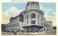 the100172 - Main Street Theatre Kansas City, MO, USA Postcard Post Cards Old Vintage Antique