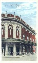 the100175 - Orpheum Theatre Marion, IL, USA Postcard Post Cards Old Vintage Antique