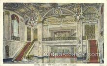 the100180 - Grand Lobby, New Palace Theatre Chicago, IL, USA Postcard Post Cards Old Vintage Antique