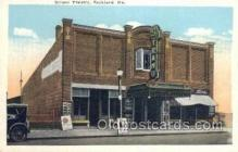 the100184 - Strand Theatre Rockland, ME, USA Postcard Post Cards Old Vintage Antique