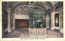 the100190 - Foyer, Newman Theater Kansas City, MO, USA Postcard Post Cards Old Vintage Antique