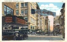 the100193 - Alder Street Portland, OR, USA Postcard Post Cards Old Vintage Antique